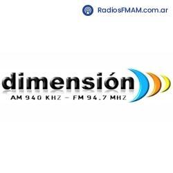 RADIO DIMENSION - FM 94.7/ AM 940 | Escuchar radio online